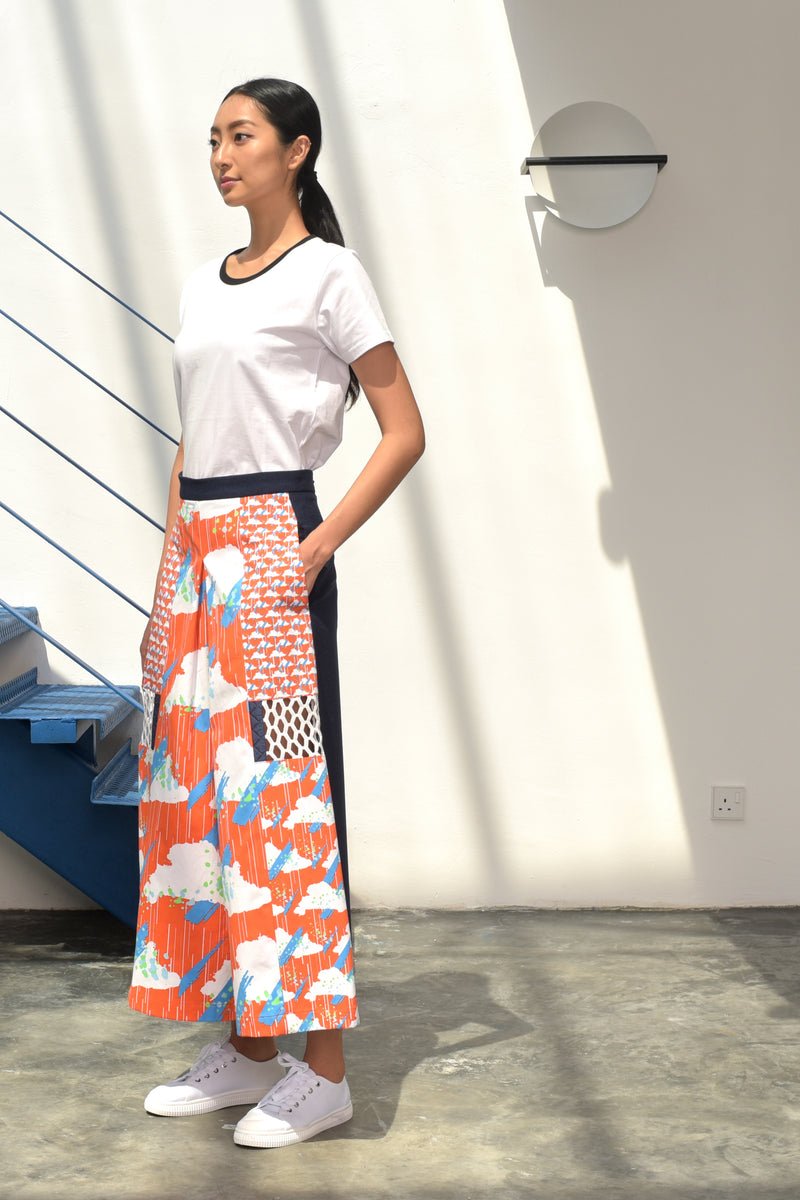 S15 LP03A || ORANGE CLOUD TROUSERS