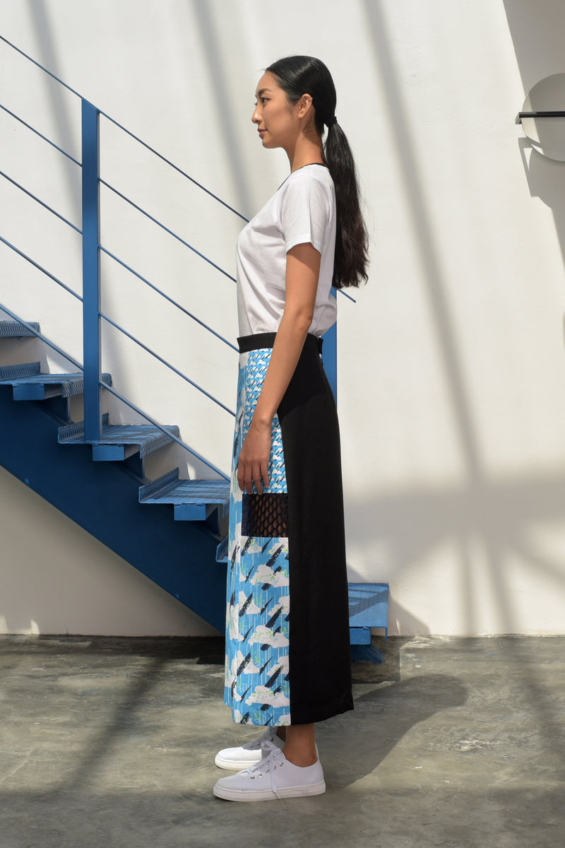 S15 LP03B || SKY BLUE CLOUD TROUSERS