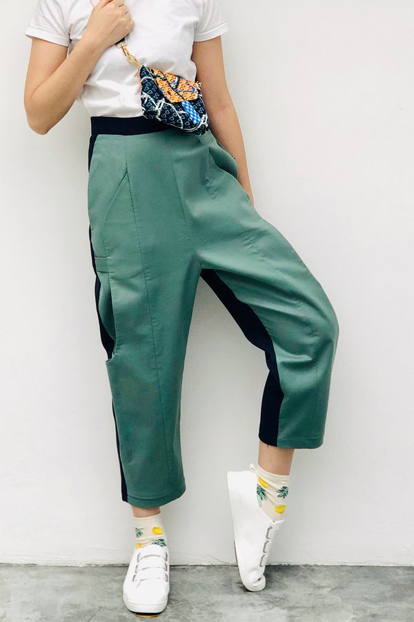 S16 LP01A || EQUESTRIAN TROUSERS IN SAGE
