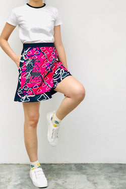 S16 SP01C || TENNIS SHORTS IN PRINT