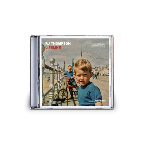 Lifeline (Deluxe Edition) - Double CD with AR Experience CD RJ Thompson Official Shop