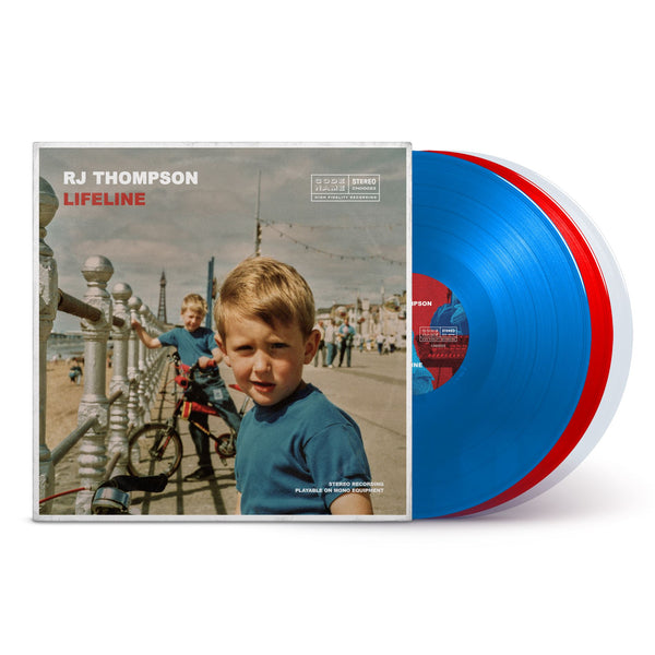 "Lifeline (Deluxe Edition) - Triple 12"" Vinyl with AR Experience Vinyl Record RJ Thompson Official Shop"