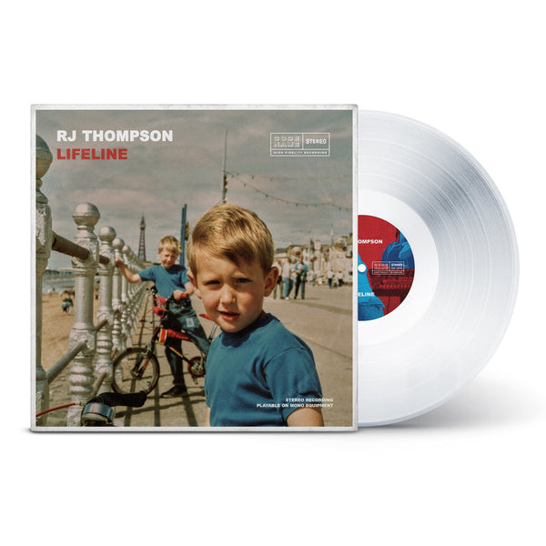 Lifeline - Limited Edition Vinyl with AR Experience (Crystal Clear) + Download RJ Thompson