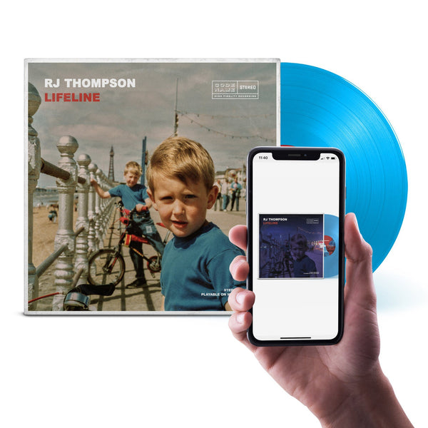 Lifeline - Limited Edition Vinyl with AR Experience (Sky Blue) + Download RJ Thompson