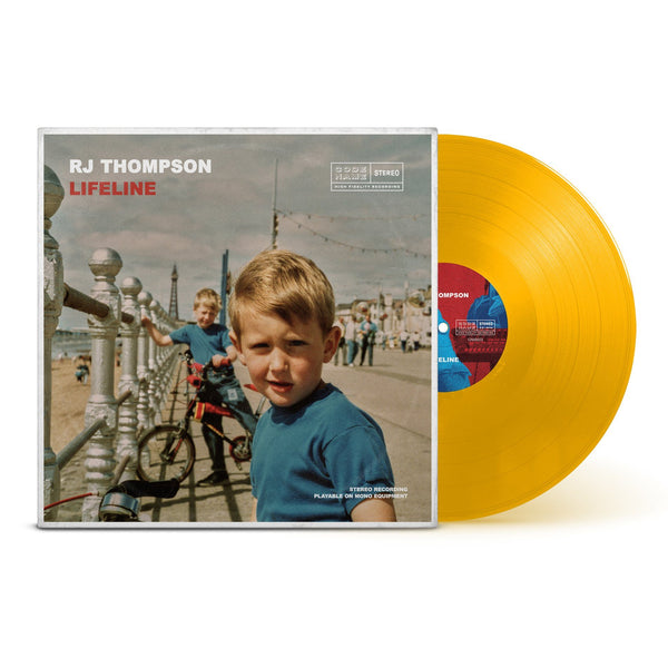 Lifeline - Limited Edition Vinyl with AR Experience (Yellow) + Download RJ Thompson