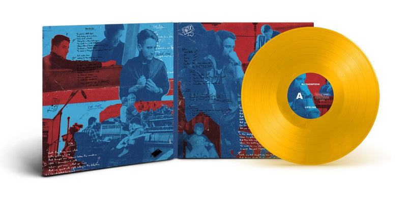 Lifeline - Limited Edition Vinyl with AR Experience (Yellow) RJ Thompson