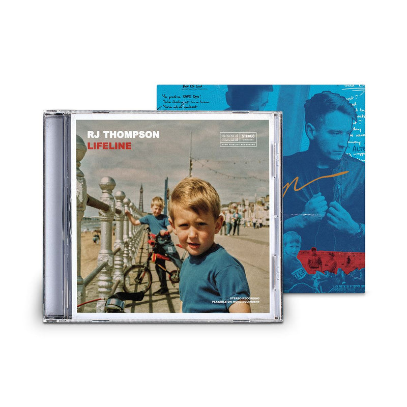 The CD + Signed Postcard Bundle! Bundle RJ Thompson Official Store
