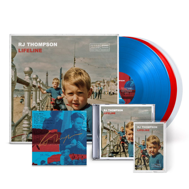 The Vinyl + CD + Cassette + Signed Postcard Bundle! Bundle RJ Thompson Official Store