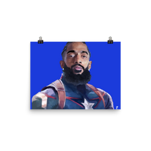 Load image into Gallery viewer, Nipsey Hussle Captain America