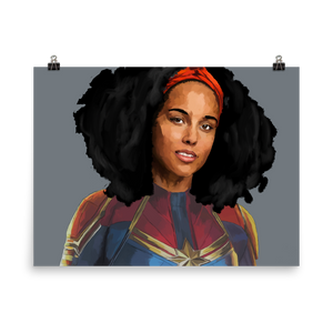 Alicia Keys Captain Marvel