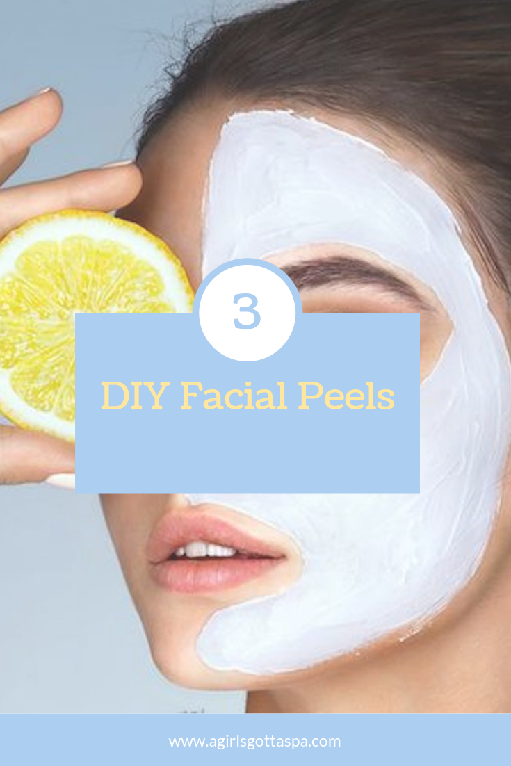 3 DIY Facial Peels #skincare #beauty #diy