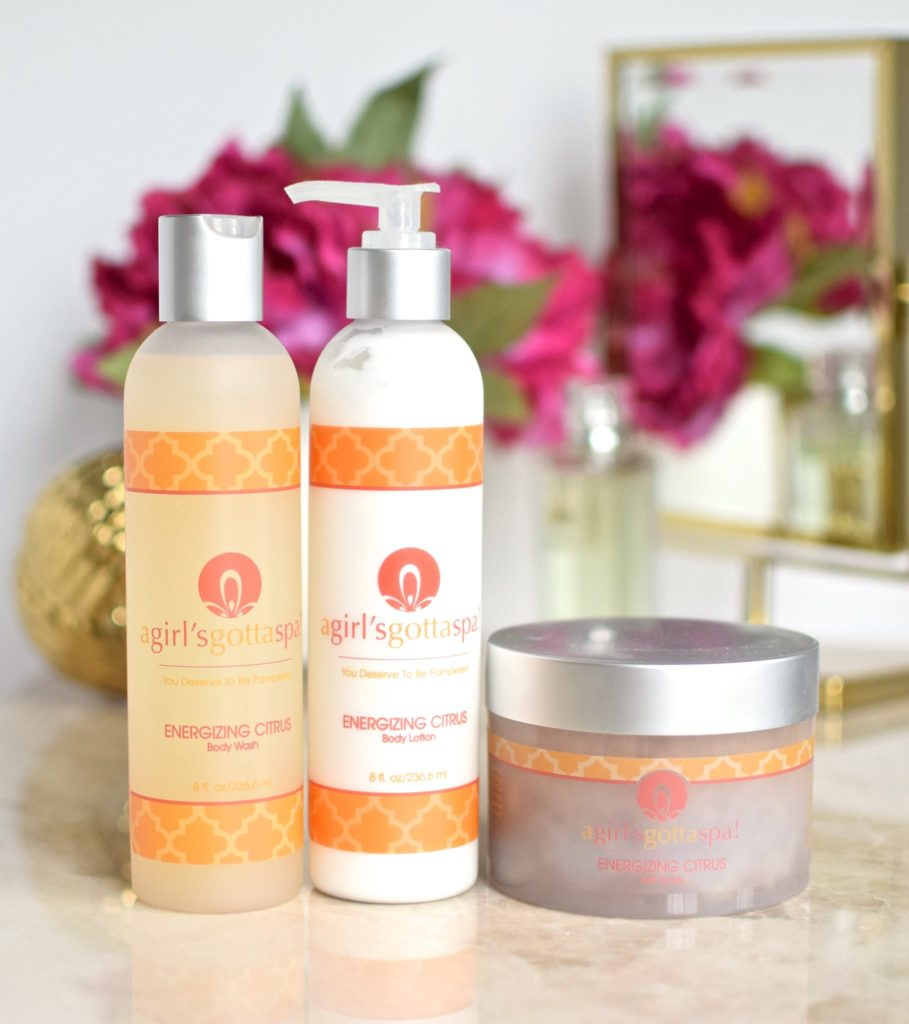@agirlsgottaspa natural, vegan and cruelty free bath and body products are now available on Amazon Canada!