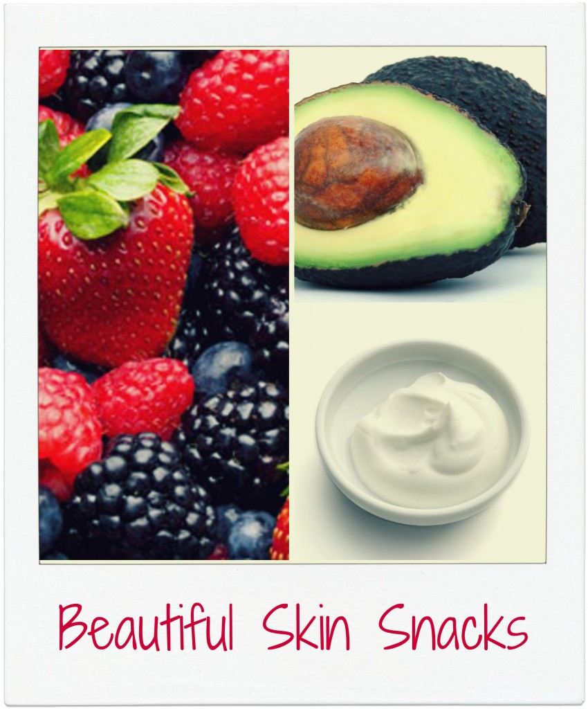 Snack Your Way to Beautiful Skin #Skincare