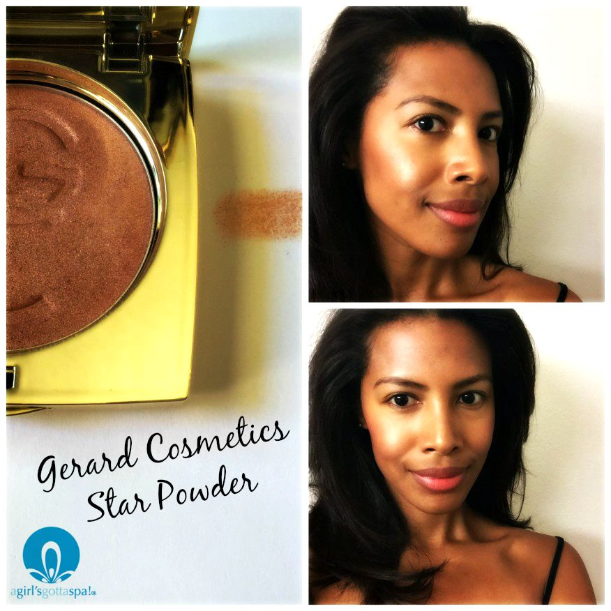 Get the glow with Gerard Cosmetics Star Powder. Full review via @agirlsgottaspa