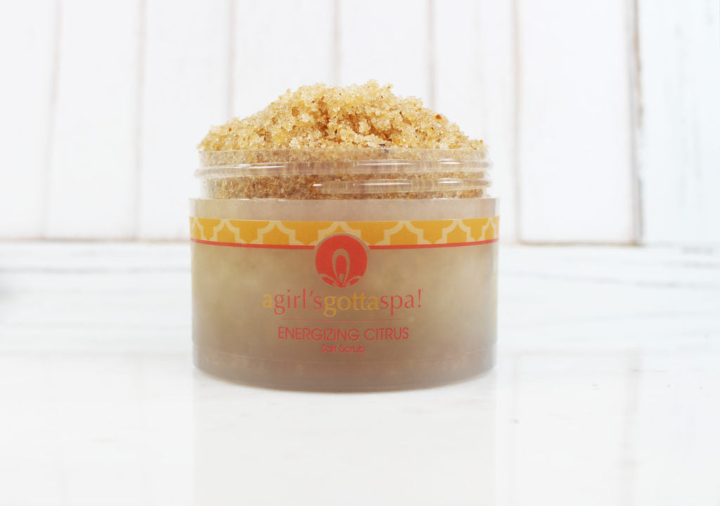 A Girl's Gotta Spa! Energizing Citrus Salt Scrub