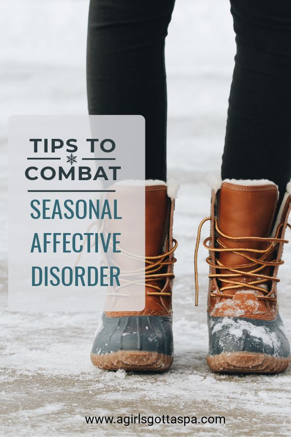 Know the symptoms of seasonal depression and tips to help deal with them.