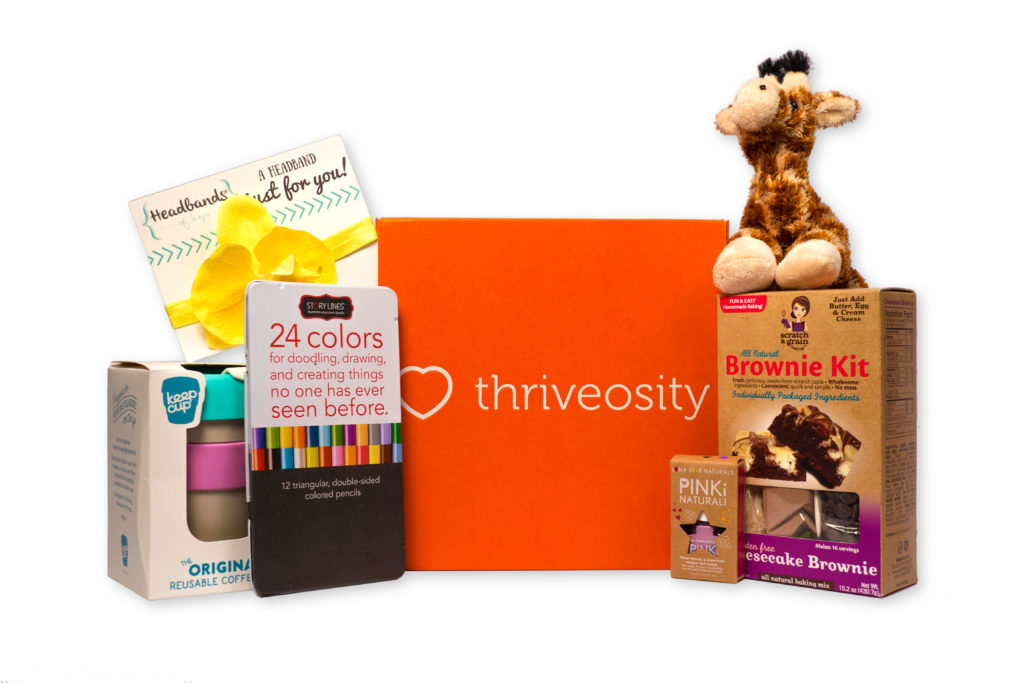 Thriveosity Cancer Care Sub Box for Girls via @agirlsgottaspa
