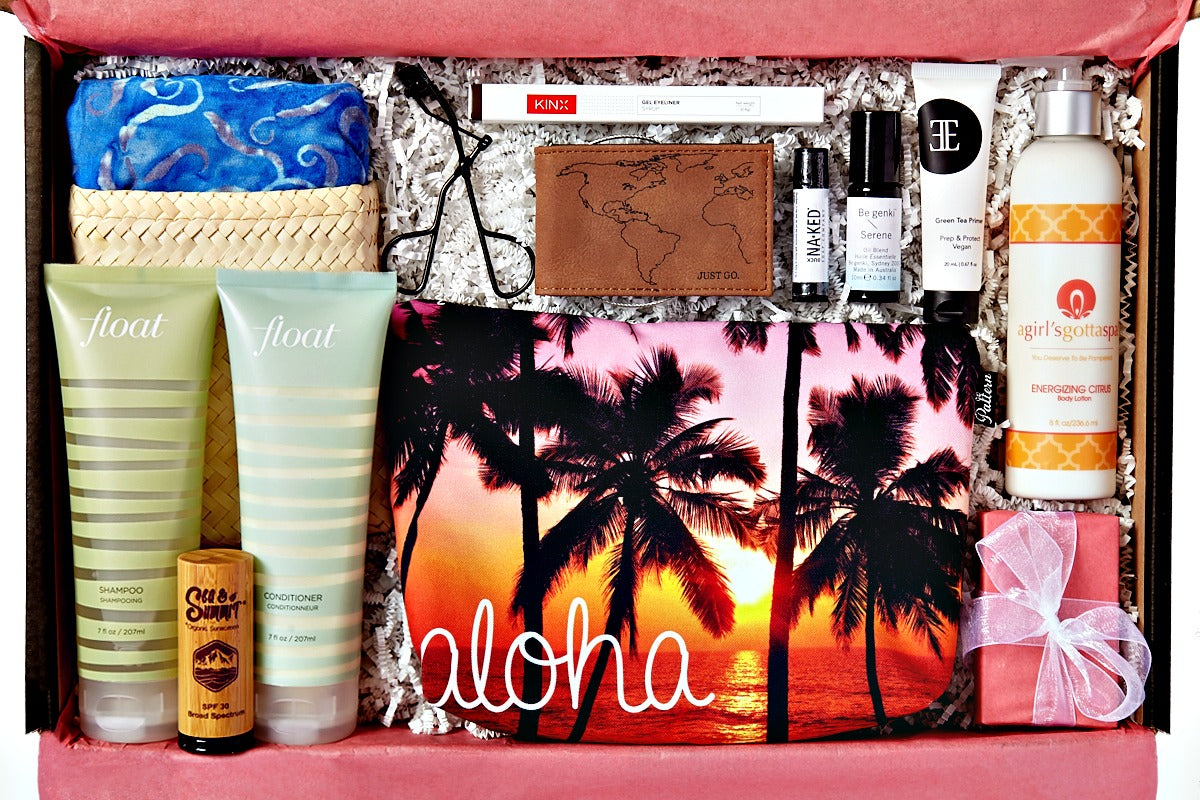 @agirlsgottaspa Energizing Citrus Body Lotion featured in The Wanderlust by Bikini.com Maui Winter 2017