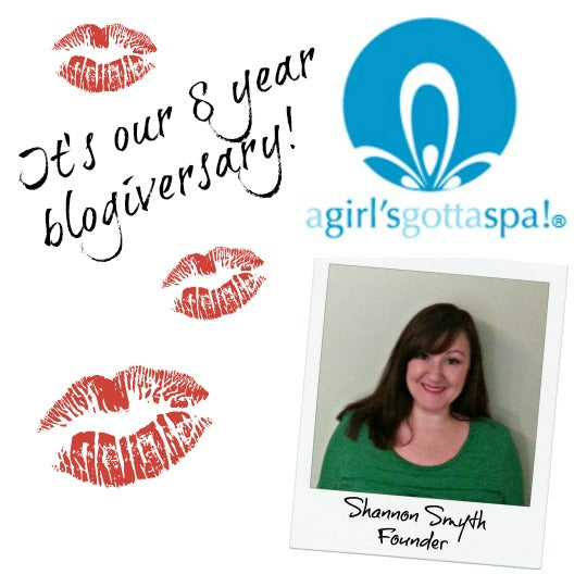 A Girl's Gotta Spa! 8th blogiversary!