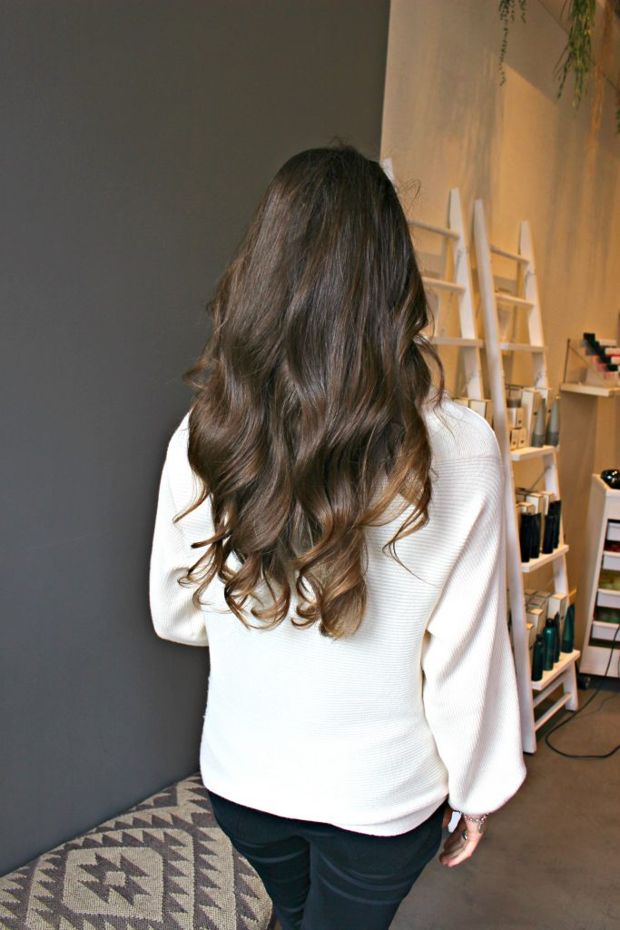 blowdry bar review - check out aer in London via @agirlsgottaspa