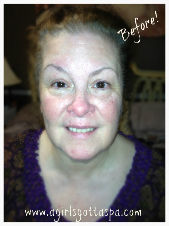 Caregiver #Makeover Before with @Aveda Heart Lands