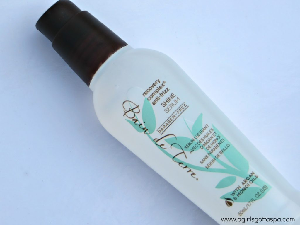 Bain de Terre Shine Serum #review #haircare #antifrizz