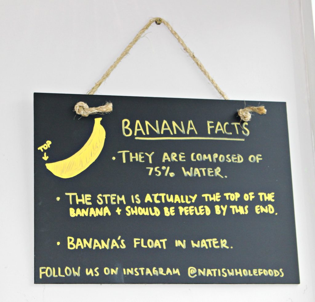 Banana facts - Bootcamp Pilates via @agirlsgottaspa