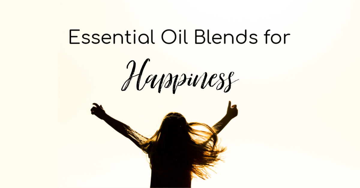 Essneital oil blends for happiness. #essentialoils #wellness #happiness