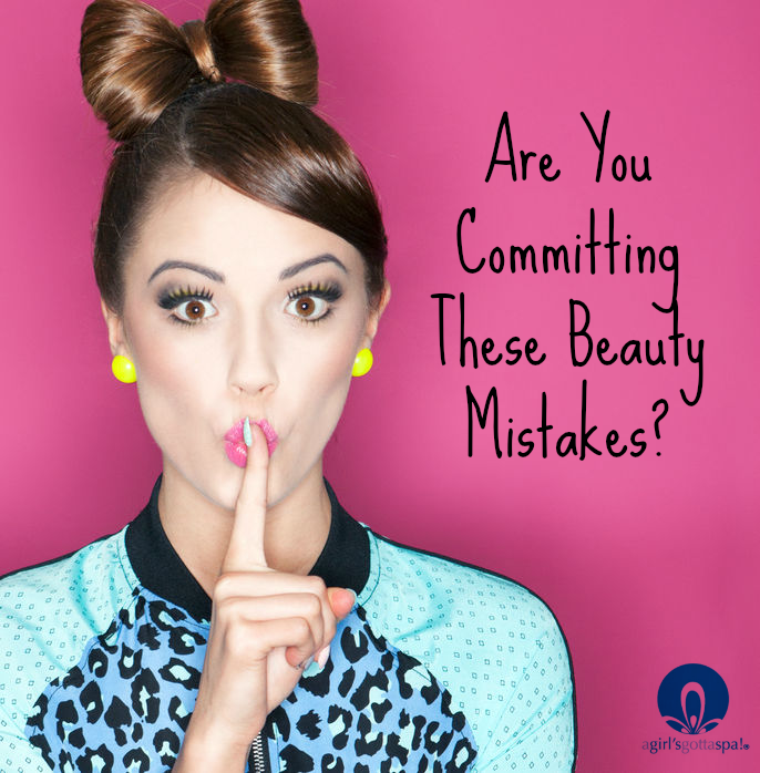 Are you committing these 5 #beauty mistakes? via @agirlsgottaspa