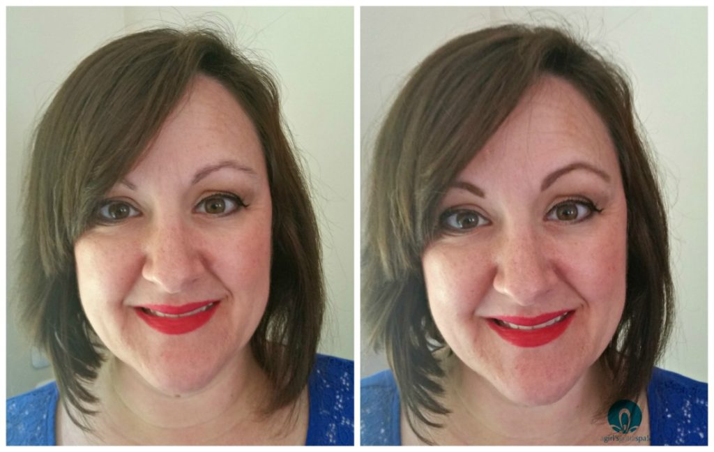 Before and after with @ChellaBeauty Tantalizing Taupe Eyebrow Kit via @agirlsgottaspa Click to read the review!