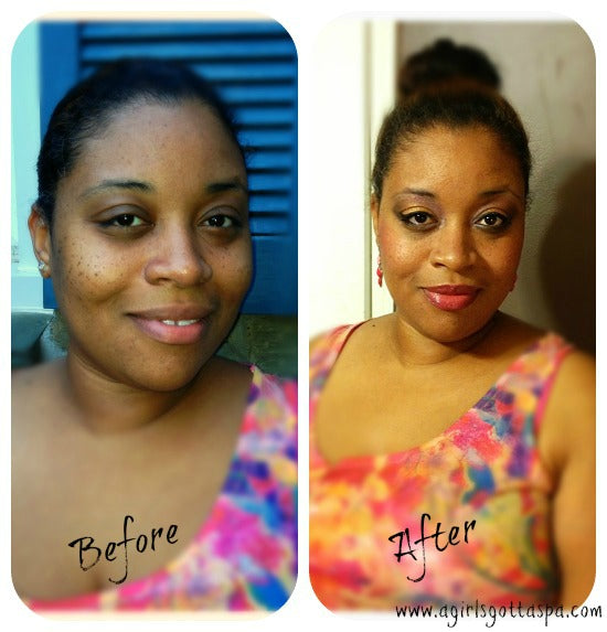 Before and After pictures #makeover