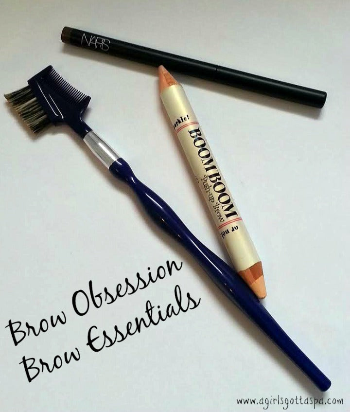 Brow Obsession: 3 Brow Essentials