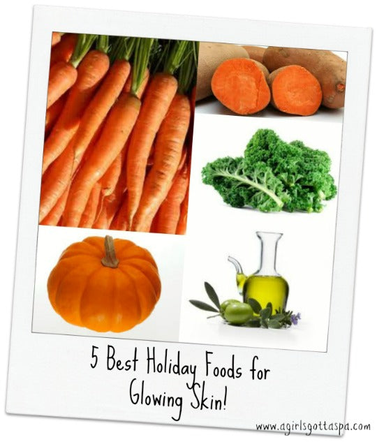 5 Best Holiday Foods for Glowing Skin