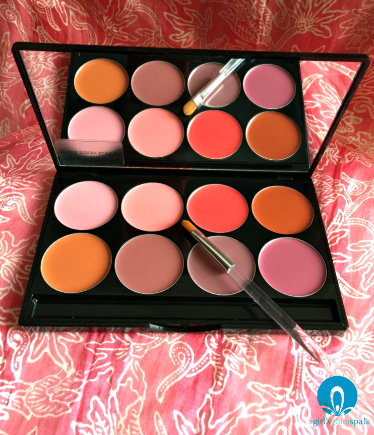 Mehron Day L.I.P. Cream Palette. Perfect for dark skin tones via @agirlsgottaspa