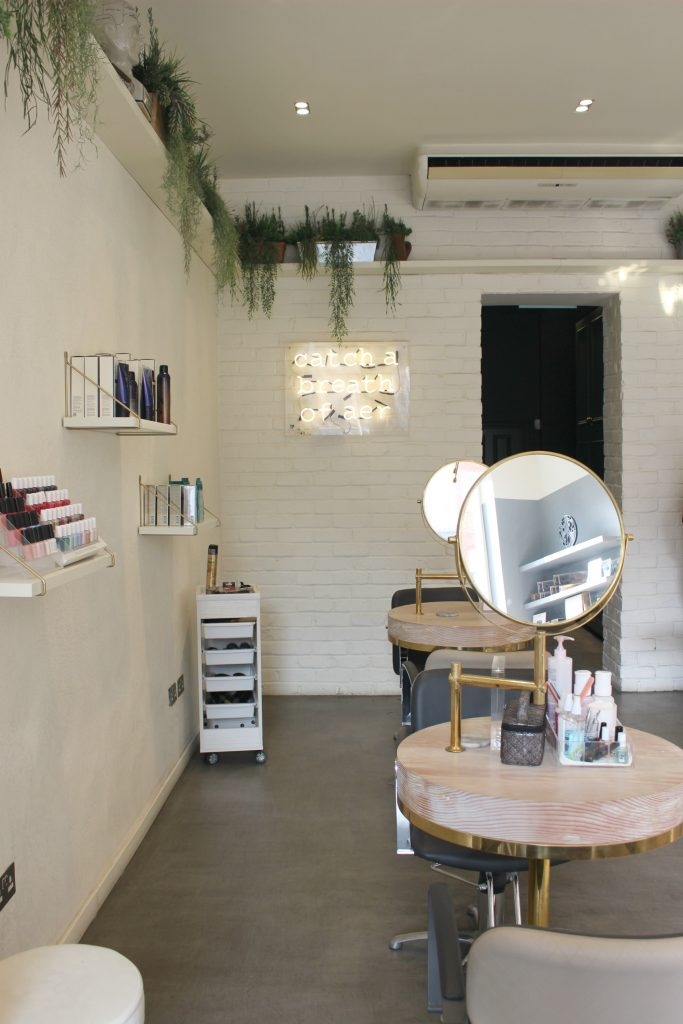 aer blowdry bar in London, review via @agirlsgottaspa