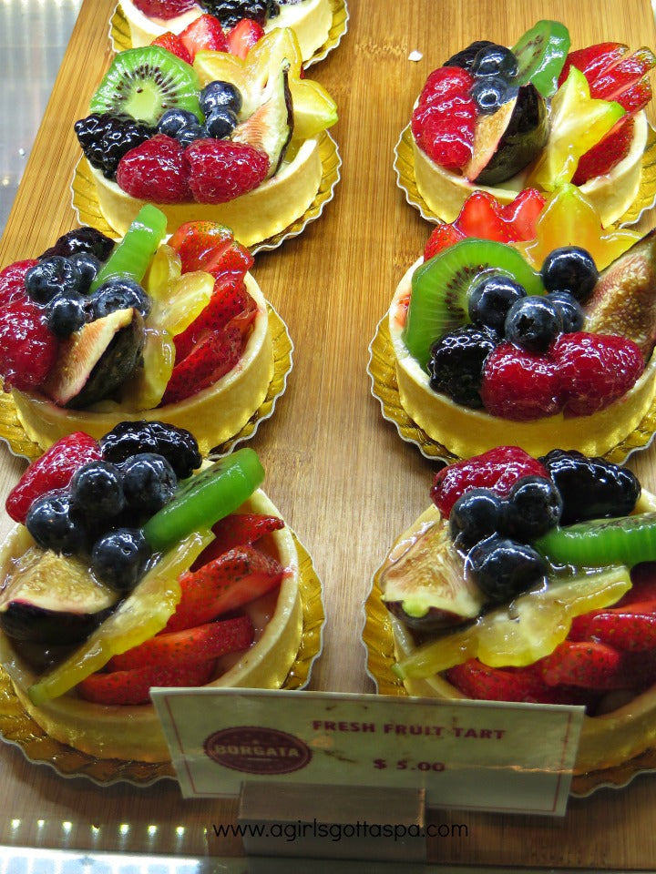 Borgata Atlantic City #DoAC Fruit Tarts at Sweets & Eats