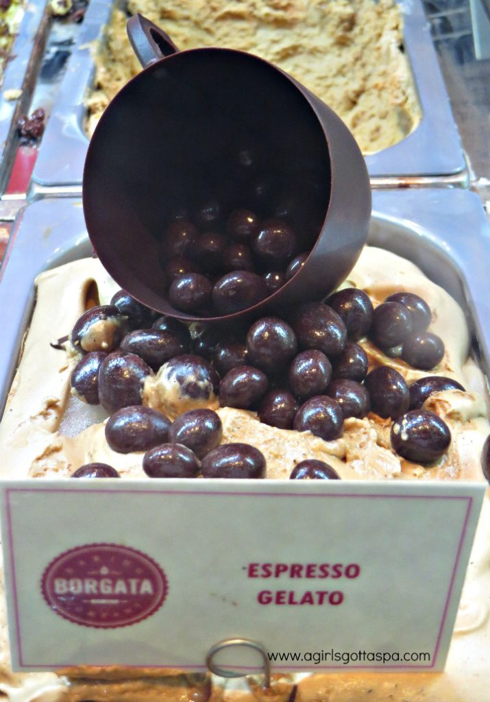 Borgata Atlantic City #DoAC Espresso Gelato at Sweets & Eats