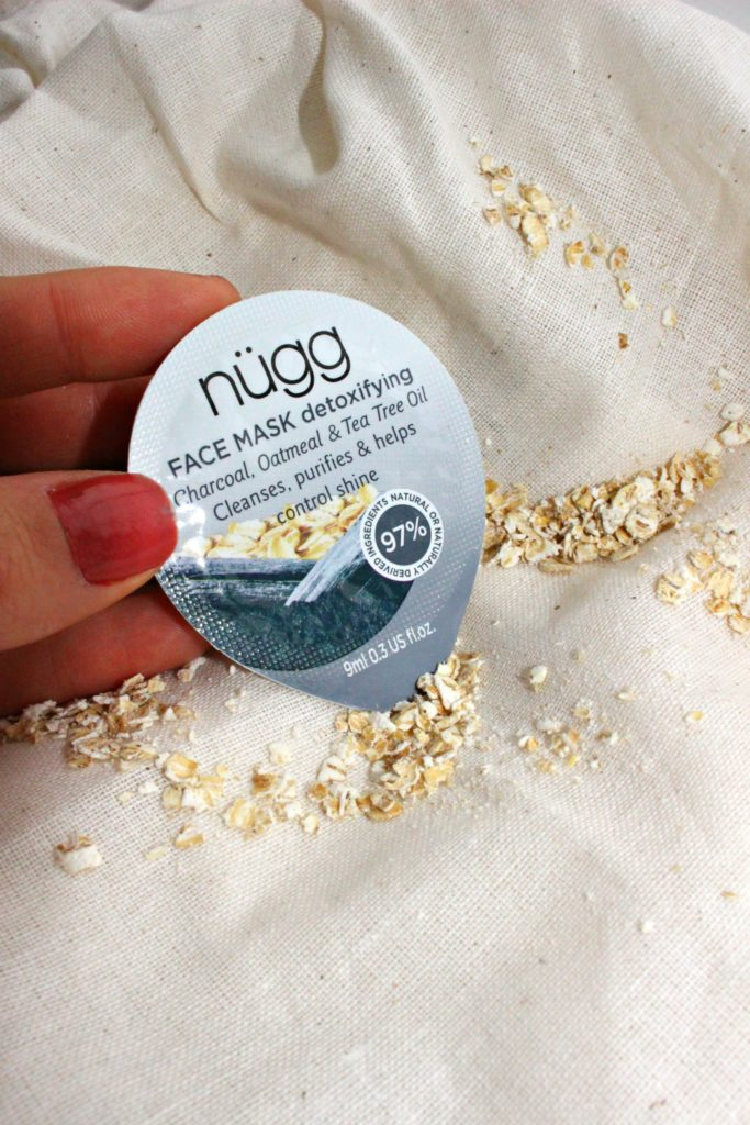 Charcoal face mask from nugg beauty via @agirlsgottaspa