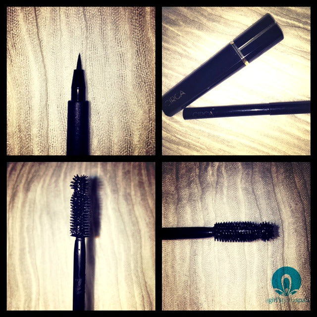 Circa Beauty mascara and eye liner review via @agirlsgottaspa