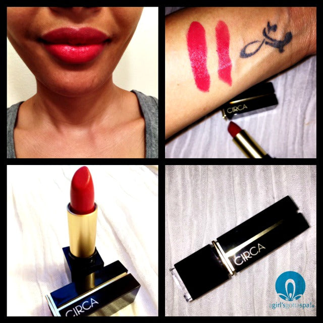 Circa Beauty lipstick review via @agirlsgottaspa
