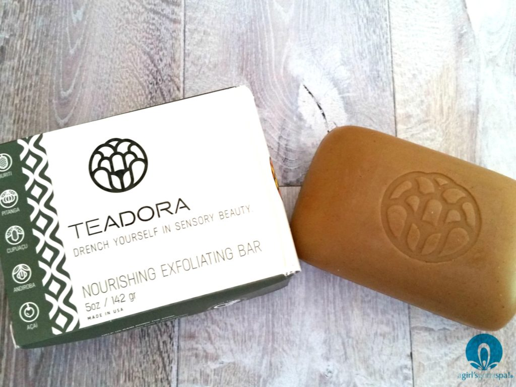 Teadora Exfoliating Clay Soap review via @agirlsgottaspa