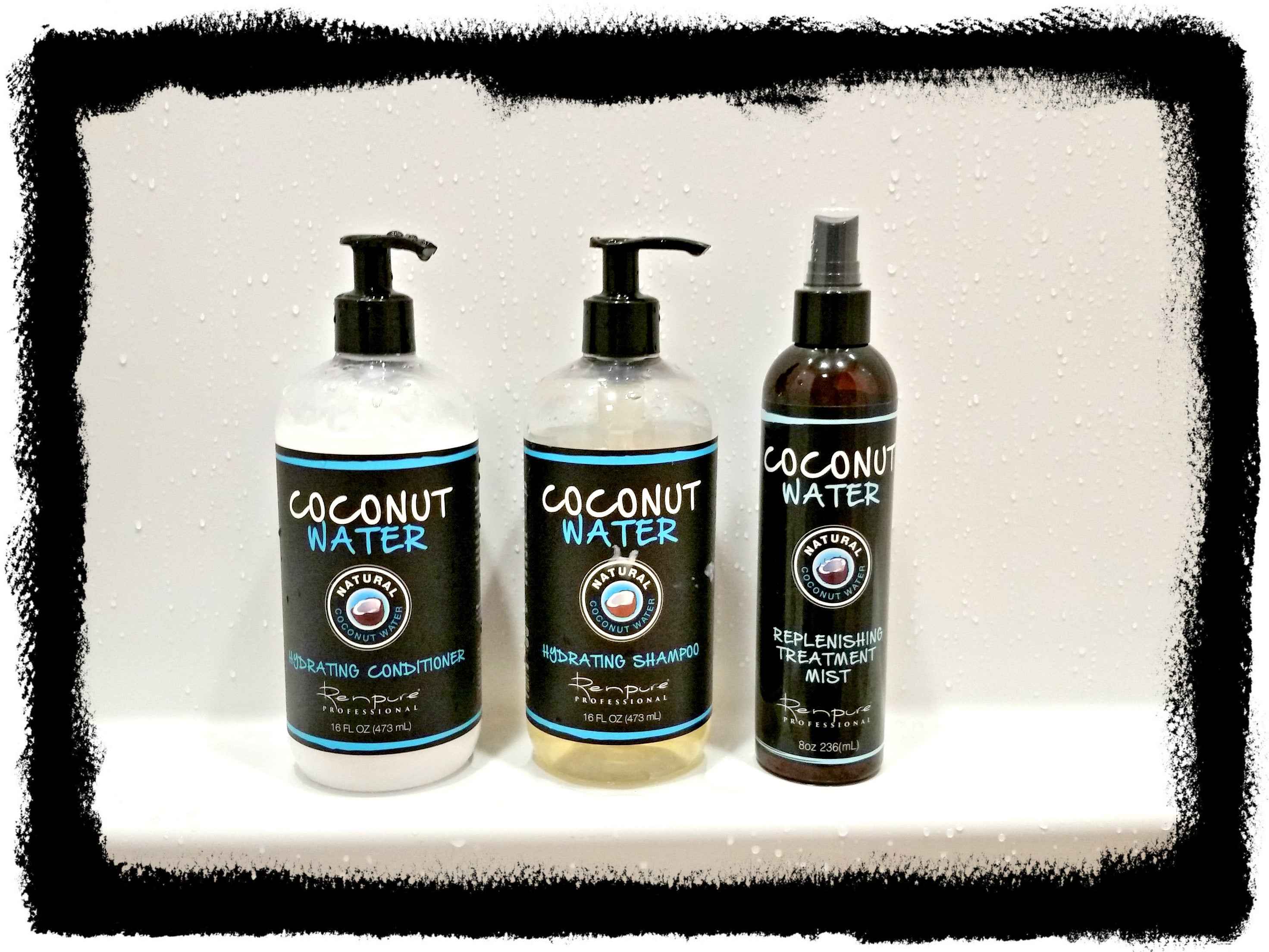 Coconut Water hair care review via @agirlsgottaspa #coconutwater #haircare