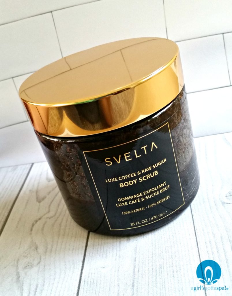 This coffee sugar scrub from @sveltatan is BEYOND. via @agirlsgottaspa