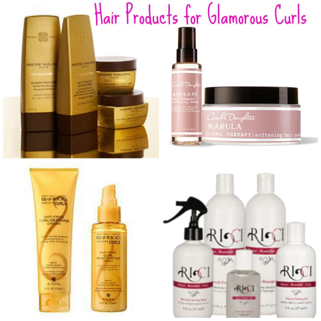 These products will get you the BEST curls! via @agirlsgottaspa #beauty