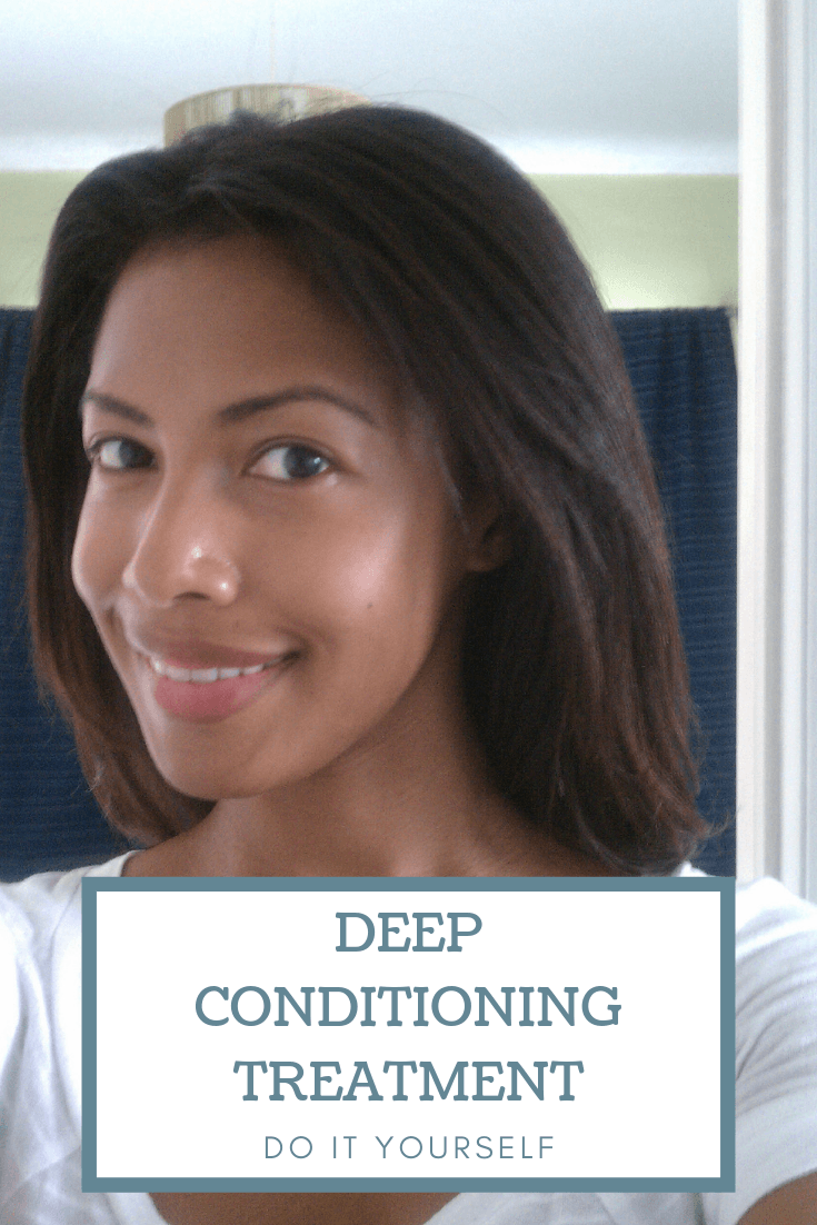 Try this DIY deep conditioning hair treatment. #haircare #DIYbeauty