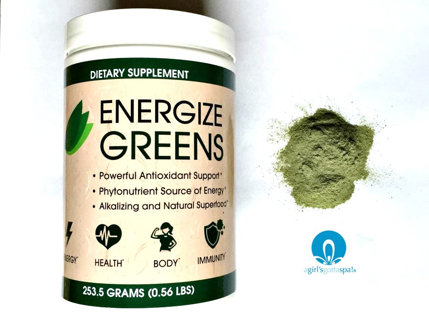 Energize Greens Dietary Supplement review via @agirlsgottaspa #ad