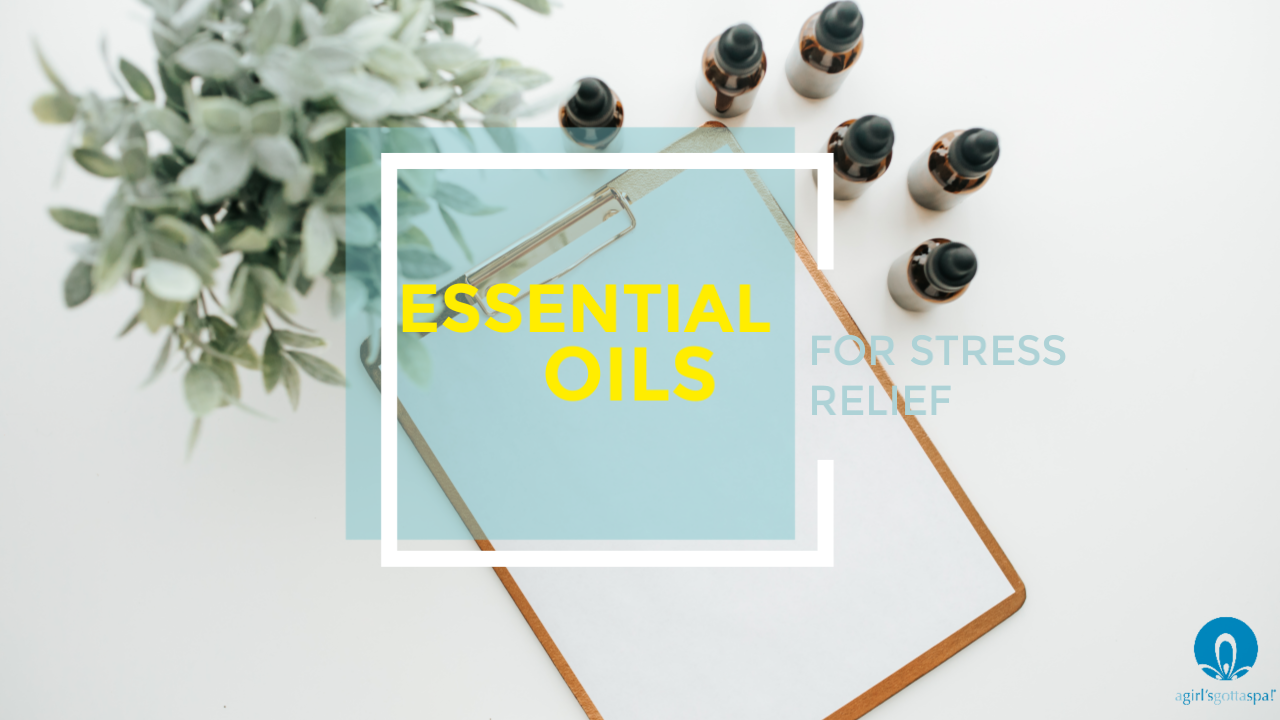 List of essential oils for stress. #essentialoils #stressfree