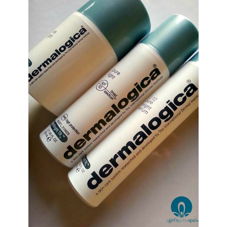 Fade dark spots with @dermalogica PowerBright TRx Trio via @agirlsgottaspa