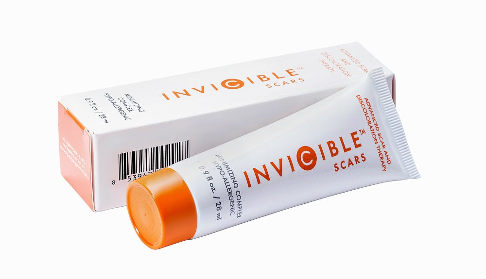 Fade scars and dark spots with @inviciblescars