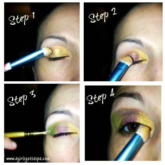 Step-by-step Fall Makeup
